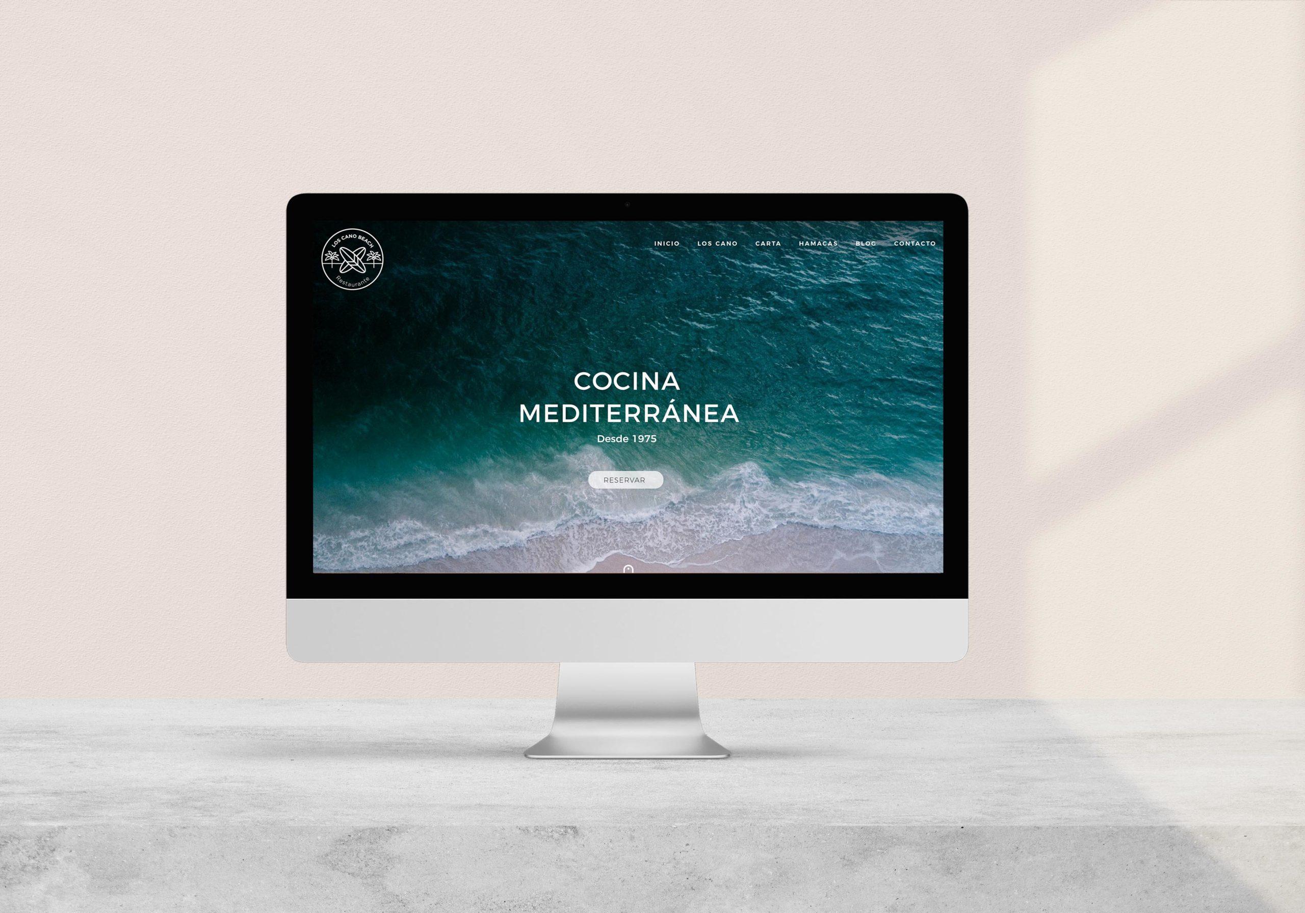 Marketing Digies Los Cano Beach Web Project